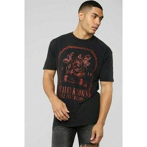 NWT Men's Graphic T- shirt L